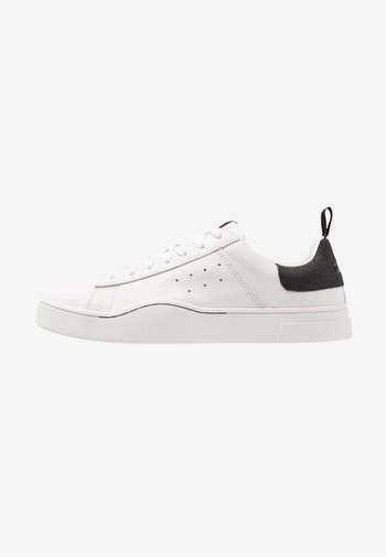 S-CLEVER LOW - Sneakers - weiss/schwarz