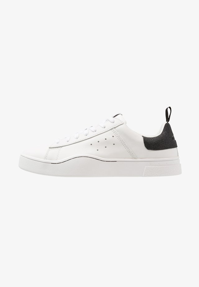 S-CLEVER LOW - Sneakers basse - weiss/schwarz