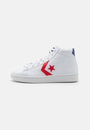 PRO BIRTH OF FLIGHT UNISEX - High-top trainers - white/rush blue/university red