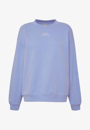 Sweatshirt - blue light