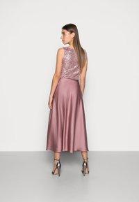 Swing - A-line skirt - pale lipstick - 2