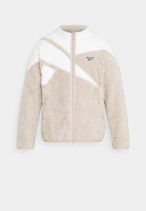 VECTOR - Fleecová bunda - modern beige