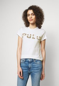 Polo Ralph Lauren - T-shirt con stampa - white - 0
