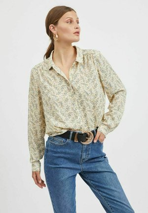 VILUCY BUTTON - Button-down blouse - birch