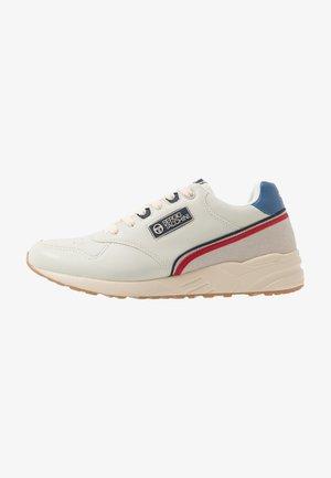 HIVORY - Sneakers laag - cream/ocean/red