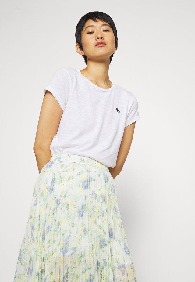 ICON CREW TEE - T-shirt basic - white