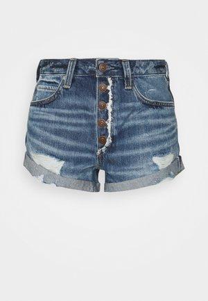ROMEO ROLLED CUT OFF - Denim shorts - beach break