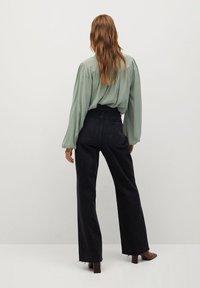Mango - MINT - Button-down blouse - vert pastel - 2