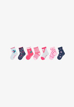 7ER-BOX MEERESTIERE - Socks - weiss