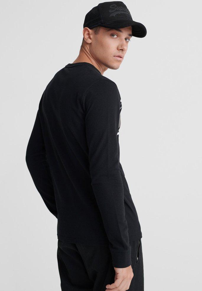 Men CORE LOGO CAMO  - Long sleeved top