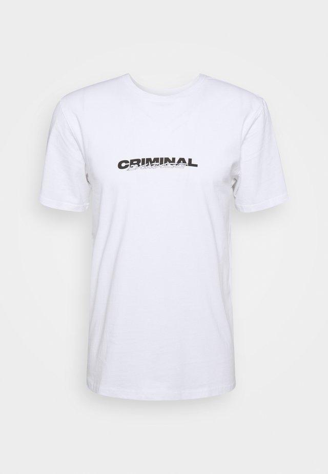 CHERUBS TEE - T-shirt imprimé - white