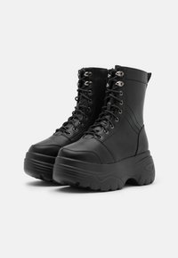 Koi Footwear - VEGAN - Platåstøvletter - black - 2