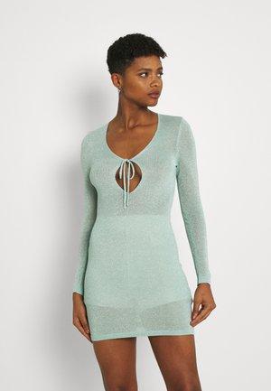 KEYHOLE DRESS - Jumper dress - mint