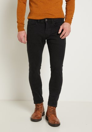 TROY - Slim fit -farkut - black denim