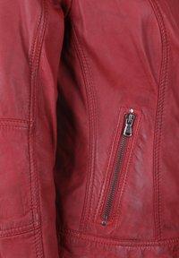 7eleven - CONA - Veste en cuir - red - 3