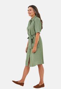 LC Waikiki - KLEID - Maxi dress - khaki - 2