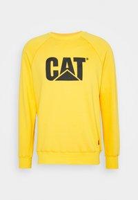 Caterpillar - WHEEL PRINT - Sweatshirt - yellow - 0
