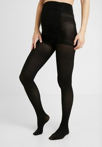 Cache Coeur - LENA OPAQUE 40D TIGHTS - Panty - black - 0