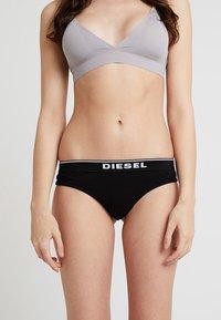 Diesel - UFST-STARS 3 PACK - Thong - schwarz/grau - 1