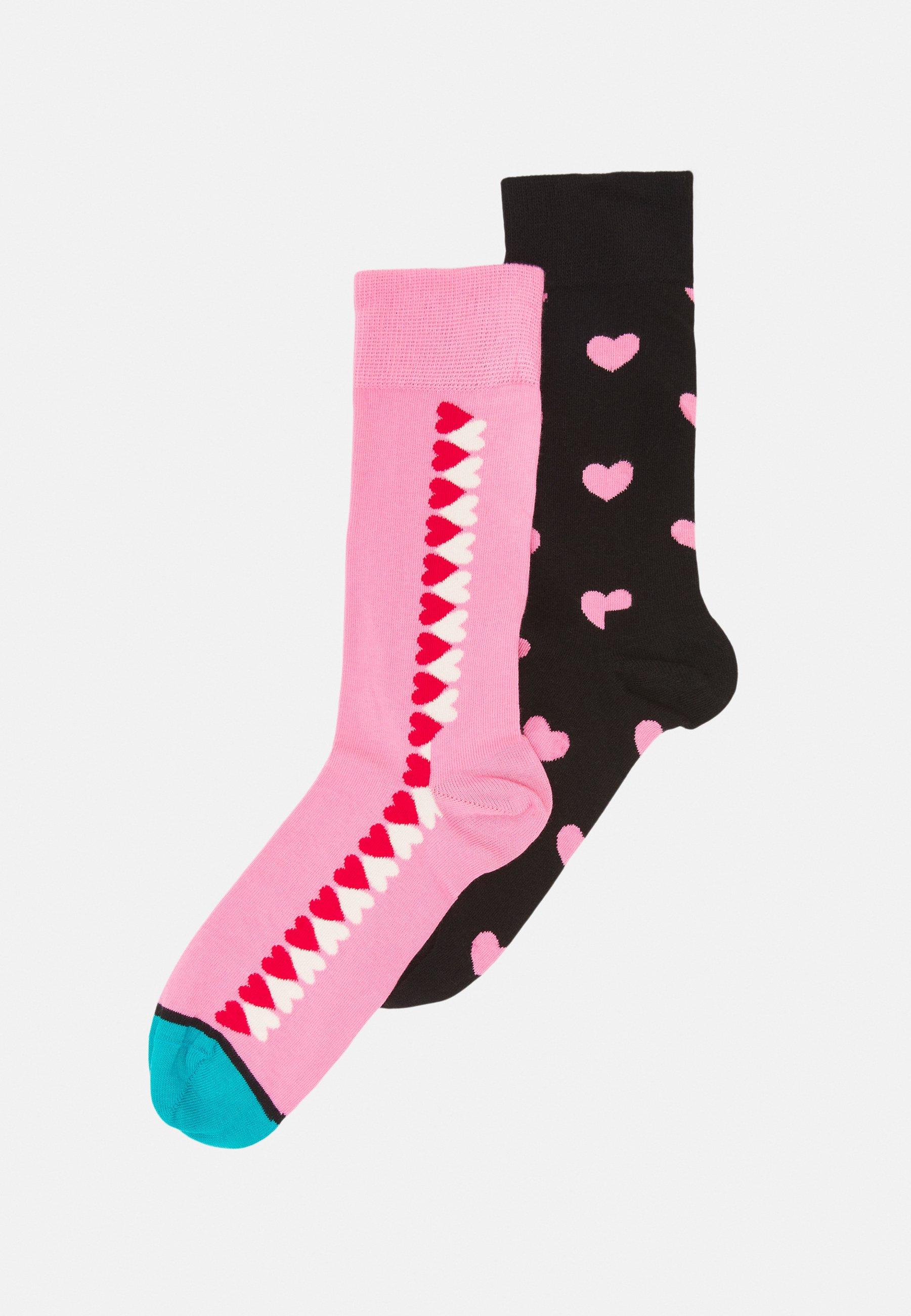 Men HEARTS GIFTBOX 2 PACK UNISEX - Socks