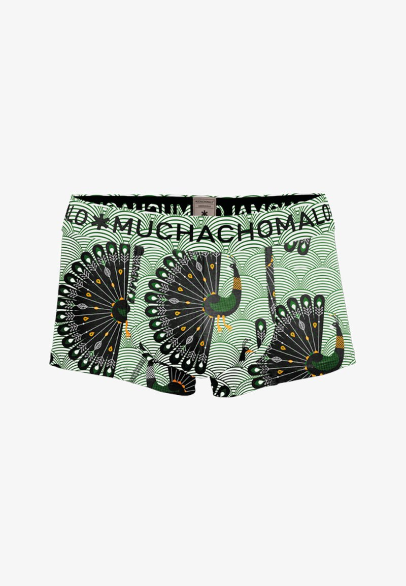 MUCHACHOMALO - PEACOCK - Pants - multicolor