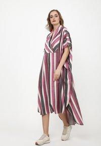 Madam-T - KORNA - Maxi dress - fuchsia/black - 1