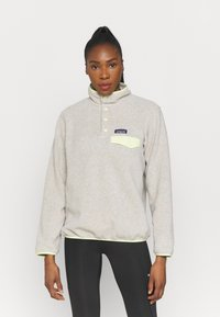 Patagonia - SYNCH SNAP - Fleece jumper - oatmeal heather/jellyfish yellow - 0
