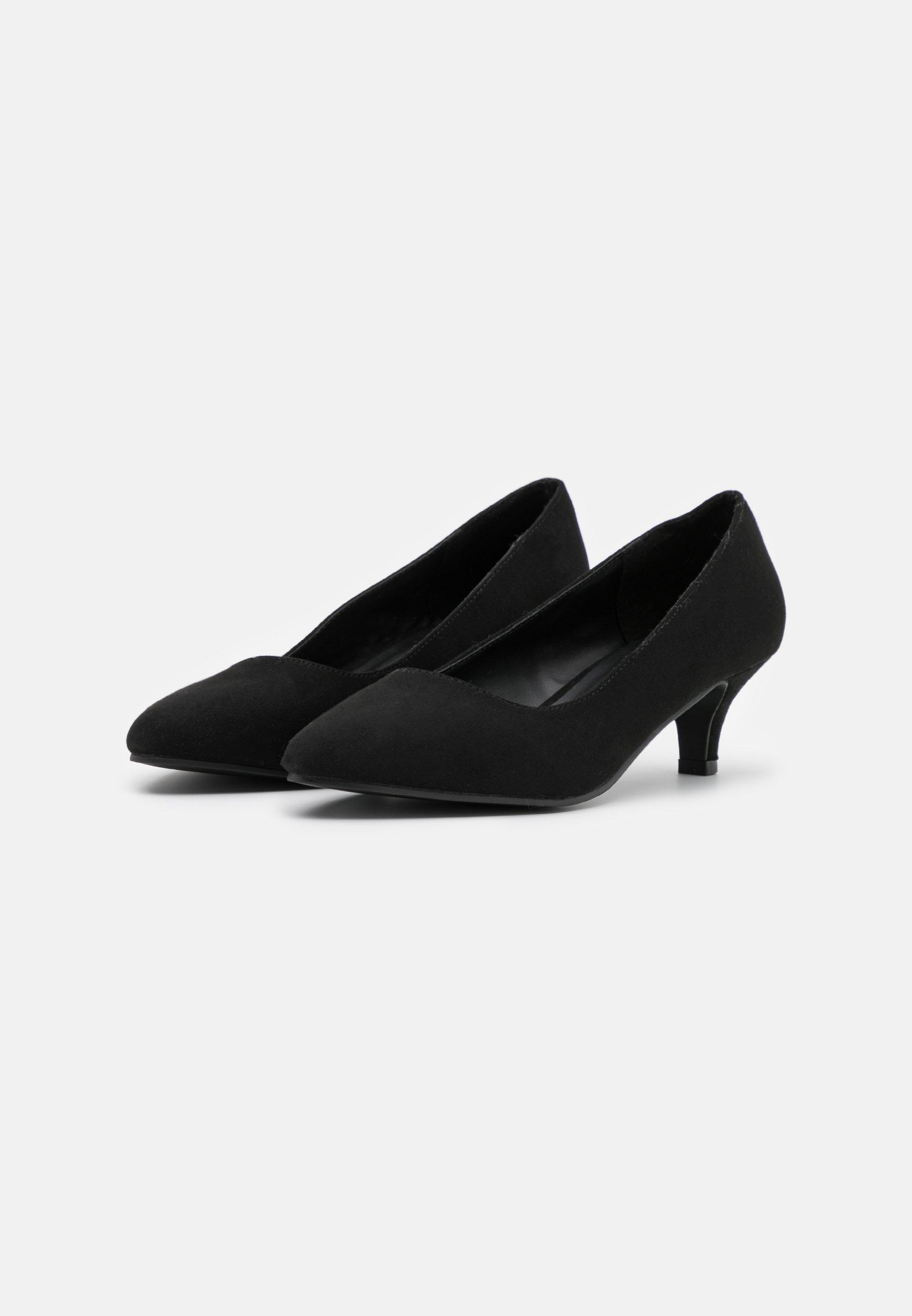 Anna Field Klassiske Pumps - Black/svart