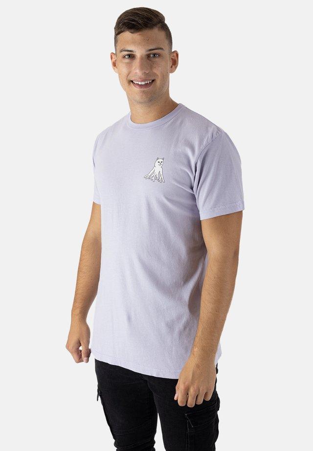T-shirt print - lavender