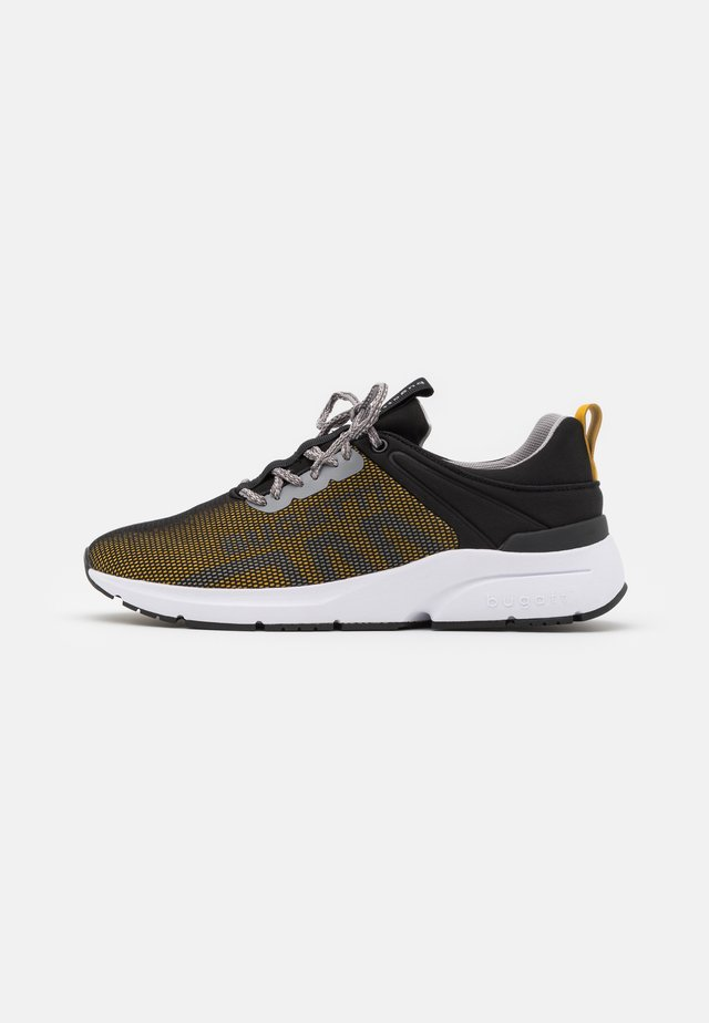 KILAWEA - Trainers - black/yellow