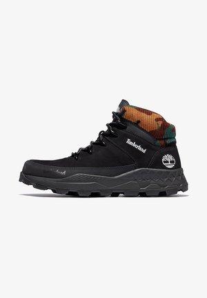 BROOKLYN EURO SPRINT - Höga sneakers - jet black
