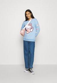 NEW girl ORDER - HELLO HEART - Sweatshirt - blue - 1