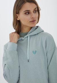 b.young - Hoodie - blue surf - 3