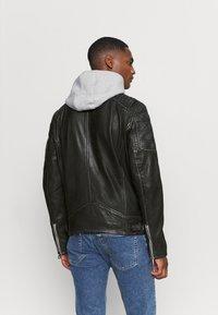 Gipsy - HALOW - Leather jacket - black - 2