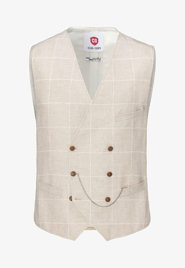 YOUR OWN PARTY - Waistcoat - beige