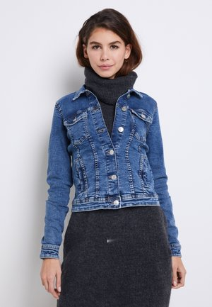 ONLTIA - Denim jacket - medium blue denim