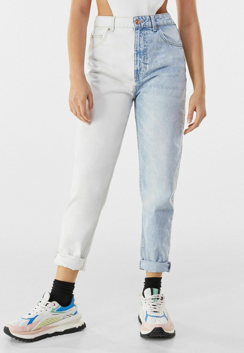 Bershka - Slim fit jeans - light blue