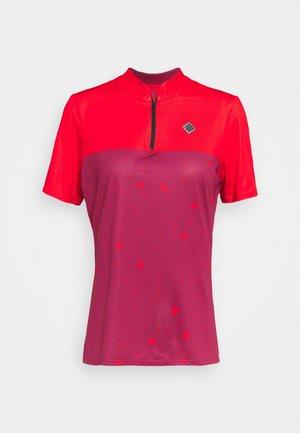 WOMEN - Print T-shirt - beet red