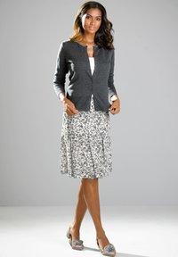 Alba Moda - A-line skirt - weiß,grau - 1