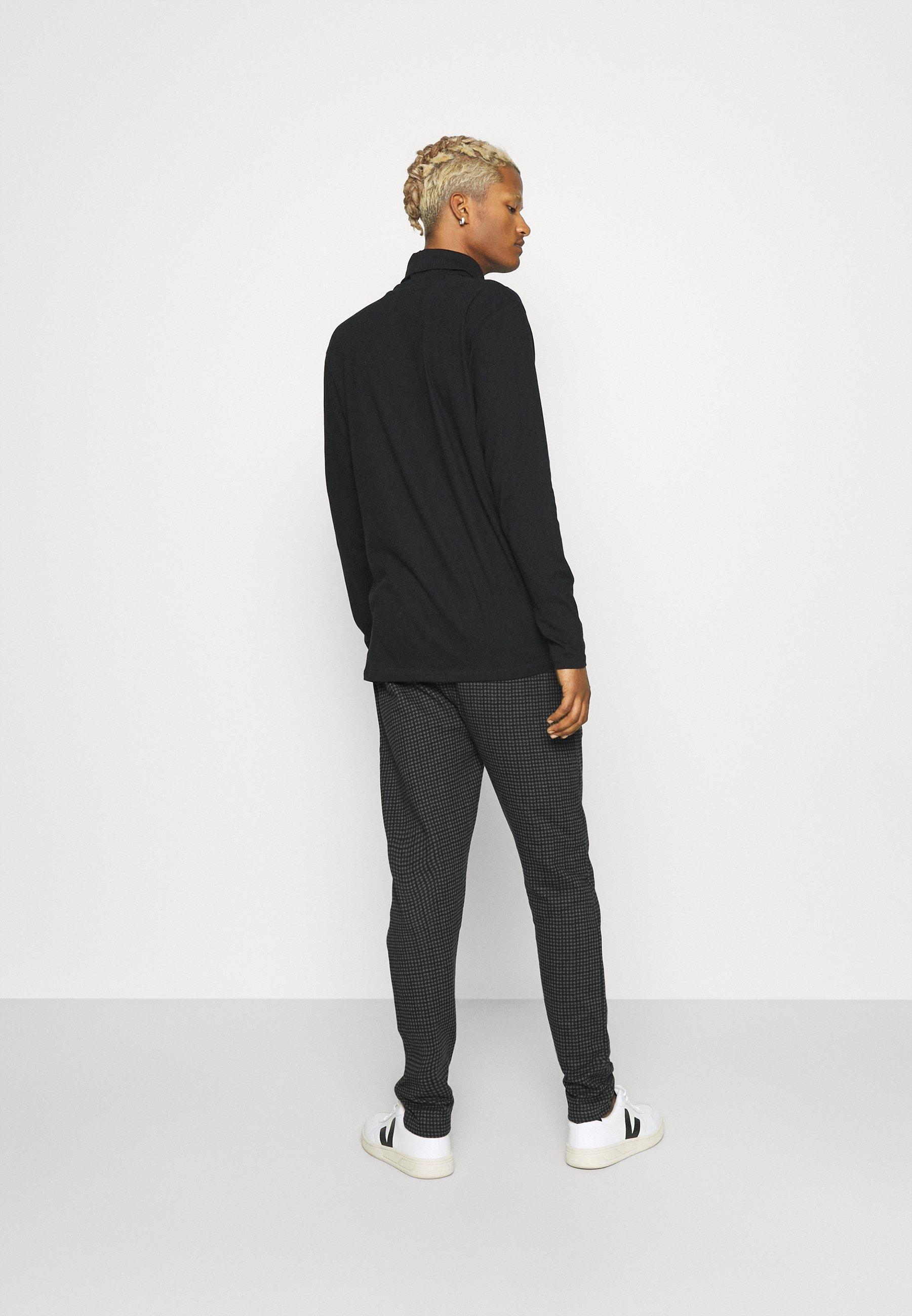 Men MINI CHECK TROUSER - Trousers