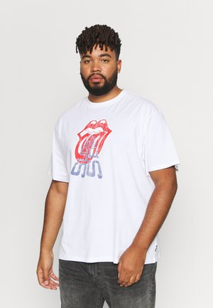 ONSSTONES LIFE TEE  - T-shirt con stampa - white