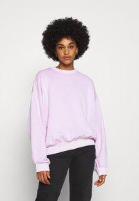 Weekday - PAMELA OVERSIZED - Sweatshirt - lilac - 0