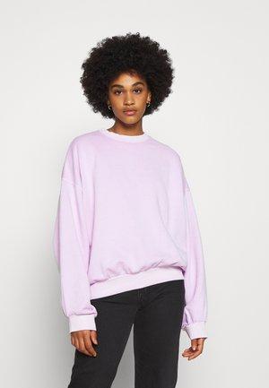 PAMELA OVERSIZED - Sweatshirt - lilac