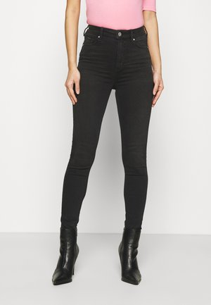 CARRIE  - Skinny džíny - black denim