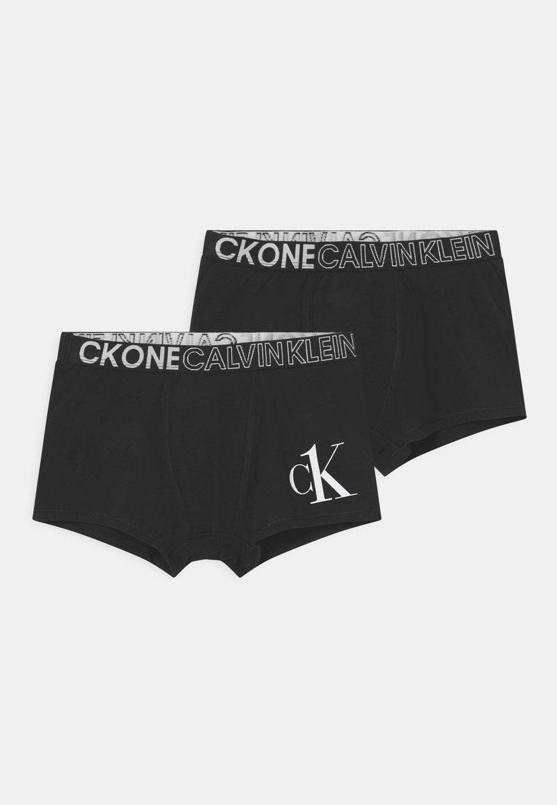 Calvin Klein Underwear - TRUNKS 2 PACK - Pants - black