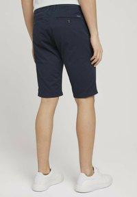 TOM TAILOR - JOSH  - Shorts - dark navy minimal design - 2