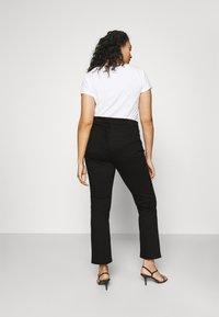 Lauren Ralph Lauren Woman - MIDRISE - Jeans Skinny Fit - black wash - 2