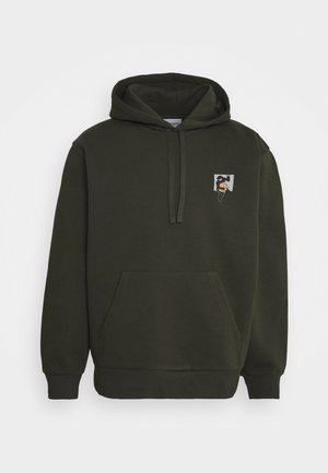 HOODED TEEF - Sweatshirt - cypress