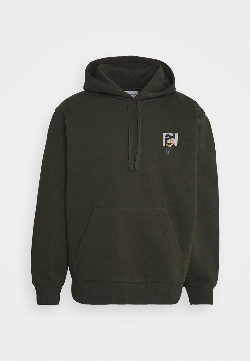 Carhartt WIP - HOODED TEEF - Sweatshirt - cypress