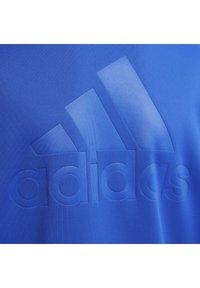 adidas Performance - DESIGNED TO MOVE OBERTEIL - Zip-up sweatshirt - blue - 3